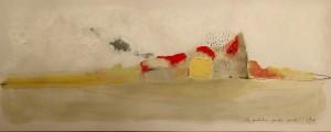 Da Qualche Parte Piove, Collezione Privata, 10x30 cm, 2015