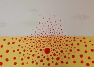 Tutta Colpa delle Fragole, 100x70 cm, 2015