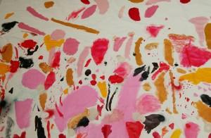 Una Storia d'Amore, Collezione Privata, tecnica mista su tela, 200x140 cm, 2015