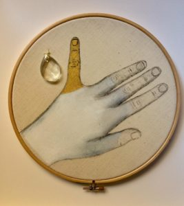 Testamento, embroidery, 2018